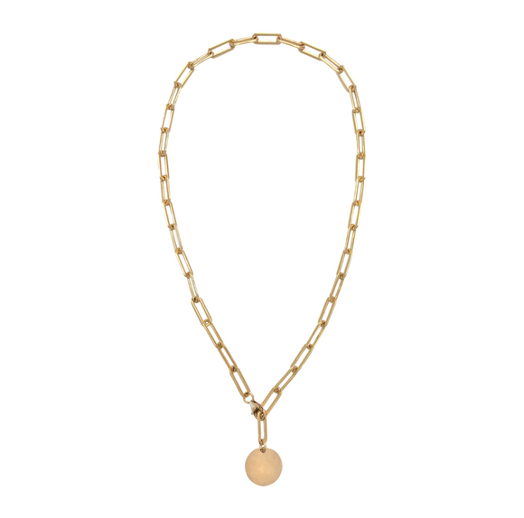 Misuzi Heavy Chain adjustable Choker Gold - Misuzi - Jewellery - Paloma + Co Adelaide Boutique