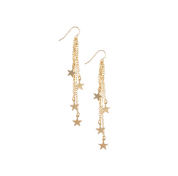 Misuzi Stevie multi star earring Gold - Misuzi - Jewellery - Paloma + Co Adelaide Boutique
