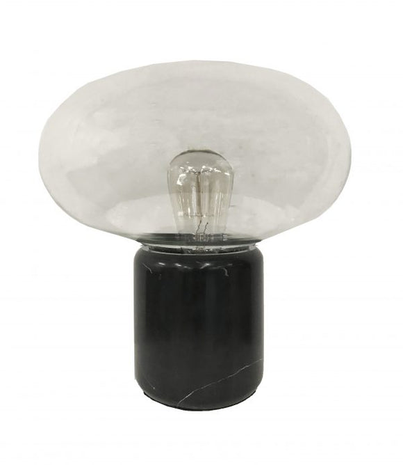 MRD Black Marble Lamp