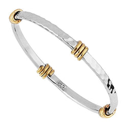 Najo Tumbaga Amarres Sterling Silver Bangle