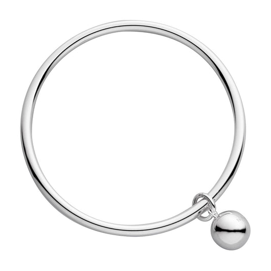 Najo Shayla Bangle Silver with Ball - NAJO - Jewellery - Paloma + Co Adelaide Boutique