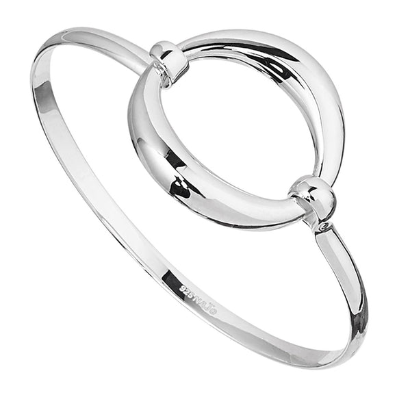 Najo 'O' Tension Bangle Silver - NAJO - Jewellery - Paloma + Co Adelaide Boutique
