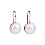 Najo Desert Dreamer Rose Gold Pearl Earring