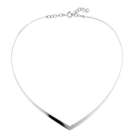 Najo V Choker sterling silver  Necklace - NAJO - Jewellery - Paloma + Co Adelaide Boutique