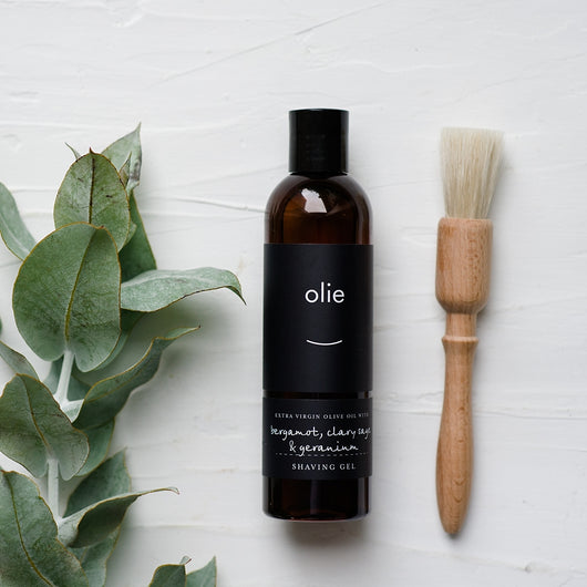 Olieve and Olie Shave Gel
