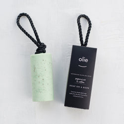 Olieve and Olie Soap On a Rope