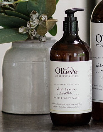 Olieve and Olie Organic Wild Lemon Myrtle Hand and Body Wash - Olieve and Olie - Gifts - Paloma + Co Adelaide Boutique