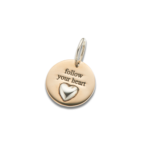 Palas Follow Your Heart Charm - Palas - Jewellery - Paloma + Co Adelaide Boutique