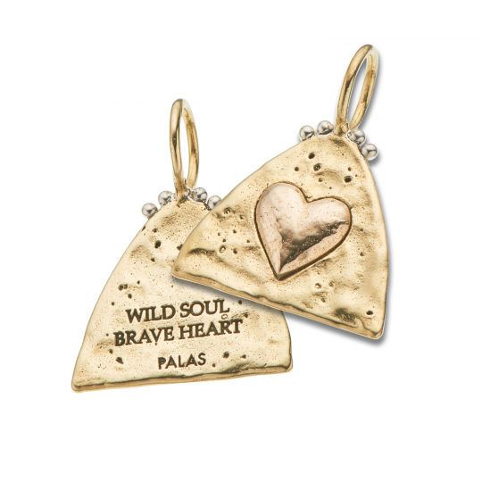 Palas Charm Wild Soul Brave Heart Charm - Palas - Jewellery - Paloma + Co Adelaide Boutique