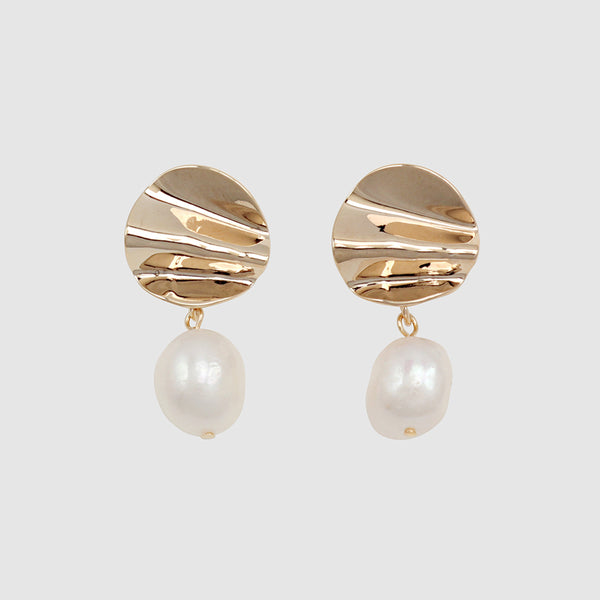 Jolie and Deen Paloma  Pearl Earring - Jolie & Deen - Jewellery - Paloma + Co Adelaide Boutique