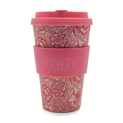 William Morris Poppy Re-usable Bamboo 14oz Coffee Cup