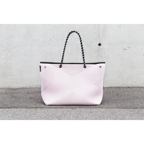 Prene THE X BAG BLUSH PINK NEOPRENE TOTE BAG