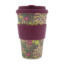 William Morris Seaweed  Re-usable Bamboo 14oz Coffee Cup
