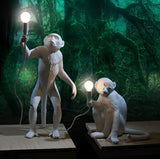 Seletti Monkey Lamp Standing White