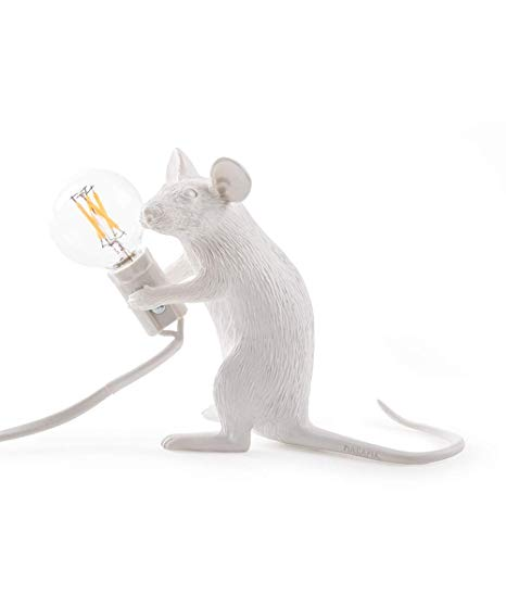 Seletti Mouse Lamp Sitting - SELETTI - Homeware - Paloma + Co Adelaide Boutique