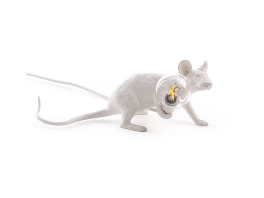 Seletti Mouse Lamp Lie Down - SELETTI - Homeware - Paloma + Co Adelaide Boutique
