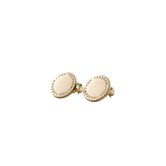 Von Treskow Yellow Gold Studs - Von Treskow - Jewellery - Paloma + Co Adelaide Boutique