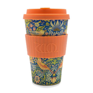 William Morris Theif  Re-usable Bamboo 14oz Coffee Cup - Ibu Bambu - Gifts - Paloma + Co Adelaide Boutique