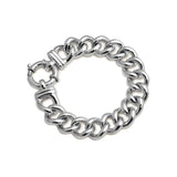 Von Treskow Medium Mama Sterling Silver Bolt Bracelet