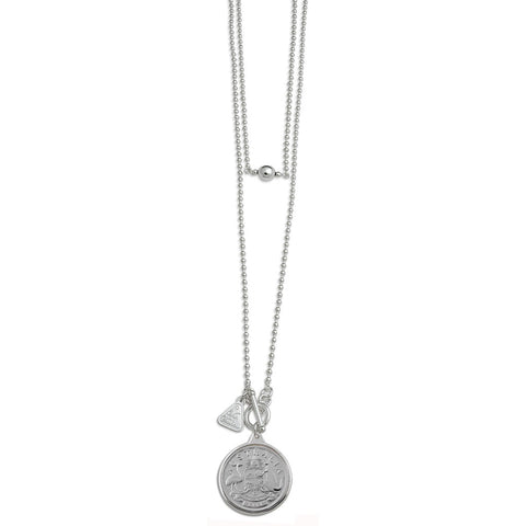 Von Treskow AUSTRALIAN TOKEN Sterling Silver NECKLACE