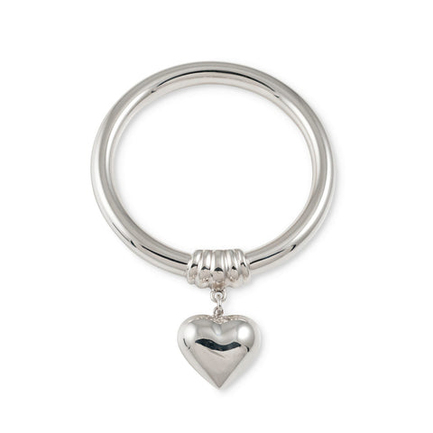 Von Treskow GOLF BANGLE WITH PUFFY HEART