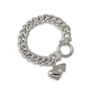 Von Treskow SMALL MAMA BRACELET WITH HEART - Von Treskow - Jewellery - Paloma + Co Adelaide Boutique