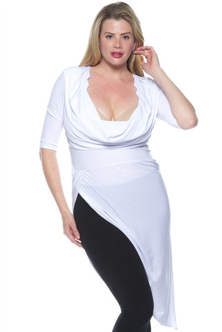 Plus size hi-low dress or top...CLEARANCE