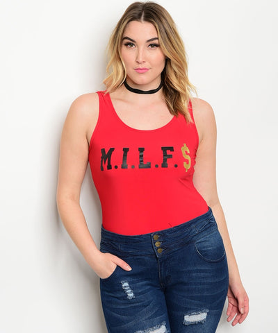 MILF$ Bodysuit Queen Size..CLEARANCE