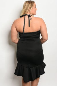 Glamorous Halter Dress....queen size