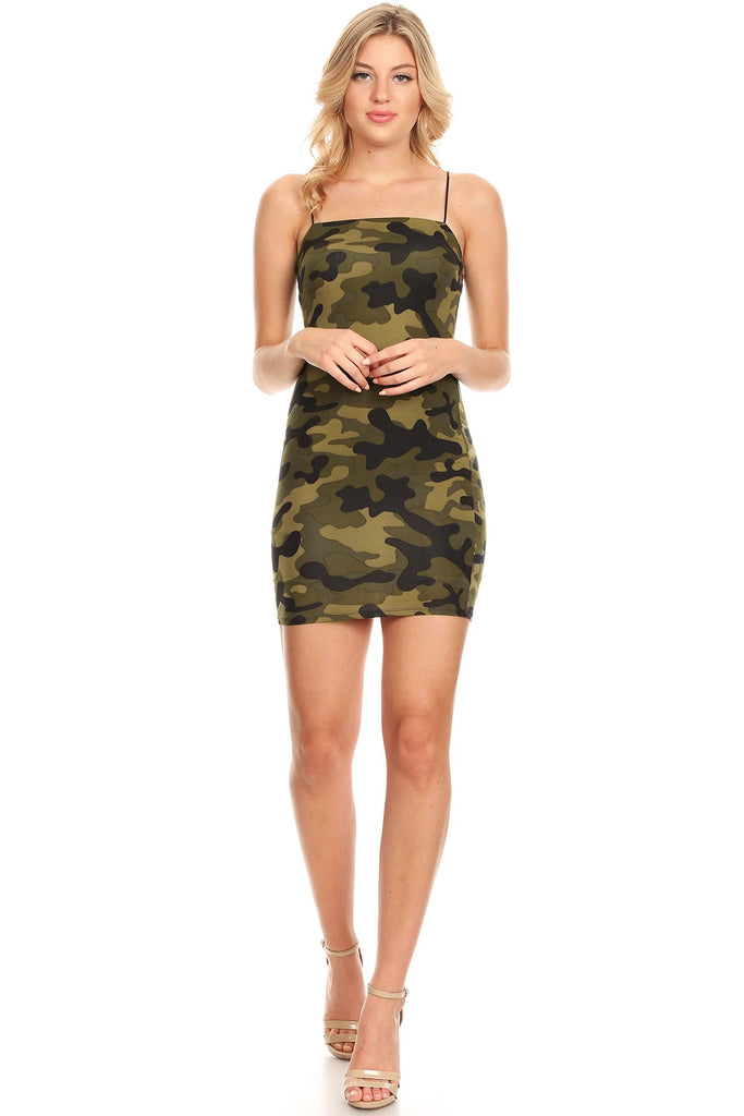 Green Camoflauge dress