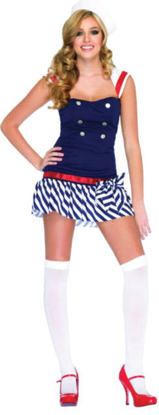 Sexy navy girl costume