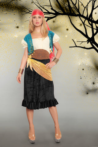 gypsy (or pirate) costume