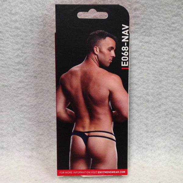 Mens strappy low rise thong
