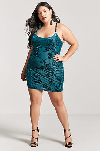 Teal green mini dress