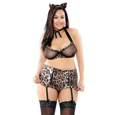 Sexy Feline Set....Queen sizes