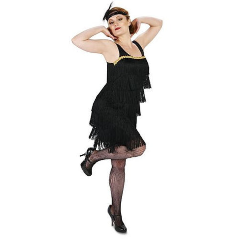 Flapper Costume Dress with Headpiece