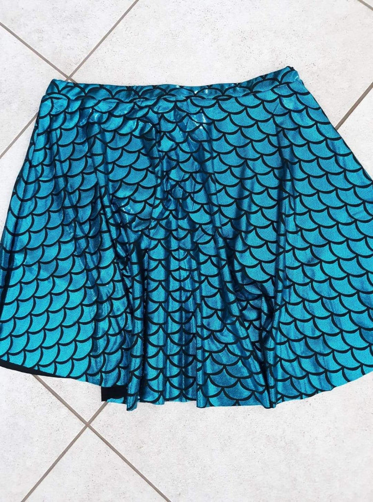 Mermaid fishscale skirt....queen size