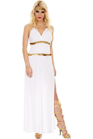 Greek Goddess gown costume