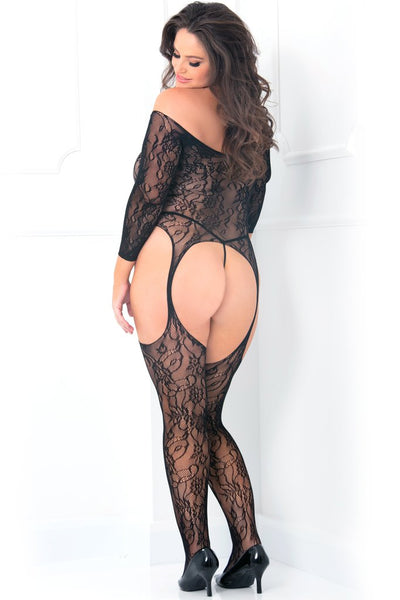 Lace bodystocking,,queen size