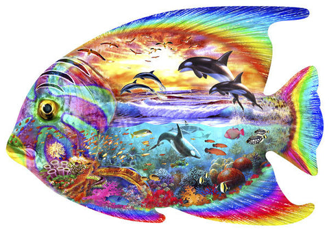 Aquatic Fanatic Jigsaw Puzzle