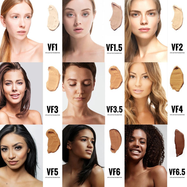 VITA-ACTIVE FOUNDATION SAMPLES - Natural Beautiful Life
