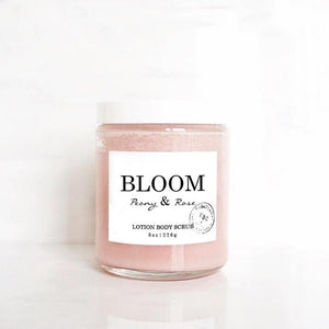 BLOOM LOTION BODY SCRUB - Natural Beautiful Life