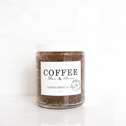 COFFEE LOTION BODY SCRUB - Natural Beautiful Life