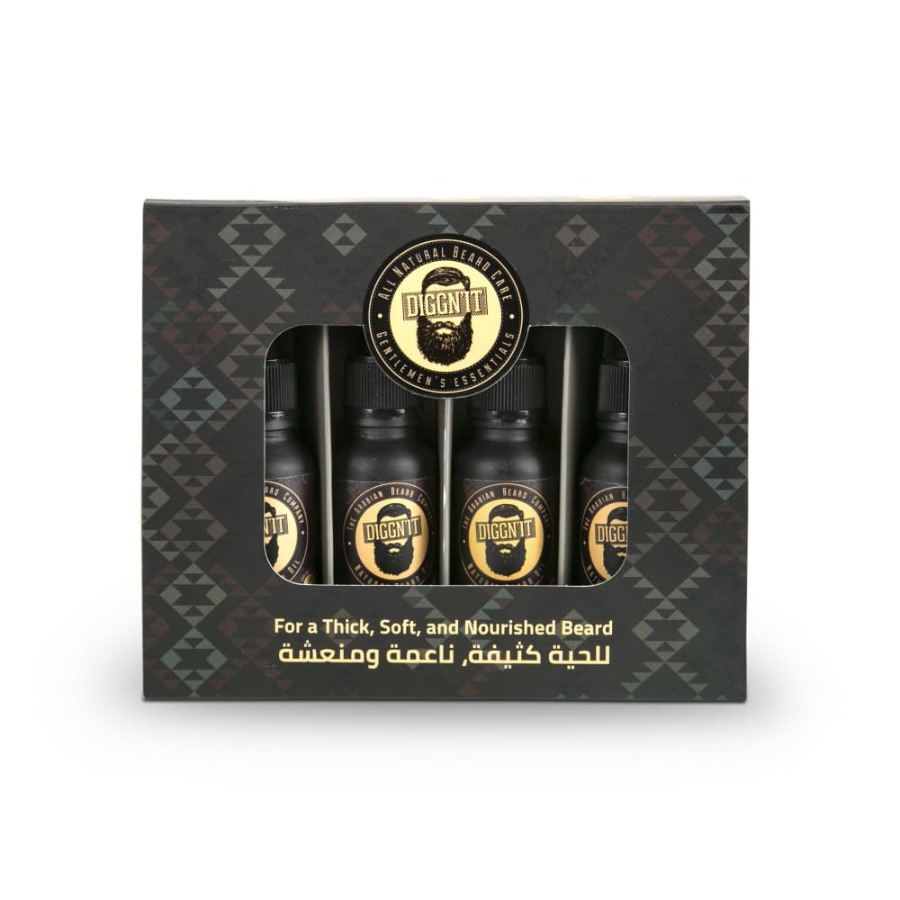 Arabian Beard Oil Sampler Set - Beard Oil