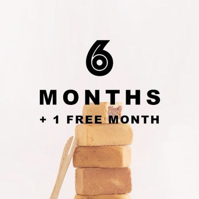 6 MONTH SUBSCRIPTION - SHIPPING INCLUDED - Joli Minis - Taiwanese Fruit Filled Biscuits