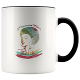 Mug Phenomenal Woman Ceramic Coffee Mug - Black | Shop Sassy Chick