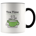Mug Tea Ceramic Accent Mug - Black | Shop Sassy Chick