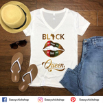 BLCK Queen V-Neck