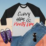 Curvy Hips & Pretty Lips Long Sleeves