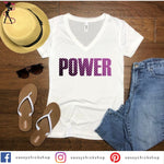 Power V-Neck